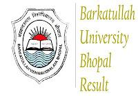 BU Bhopal Result 2018