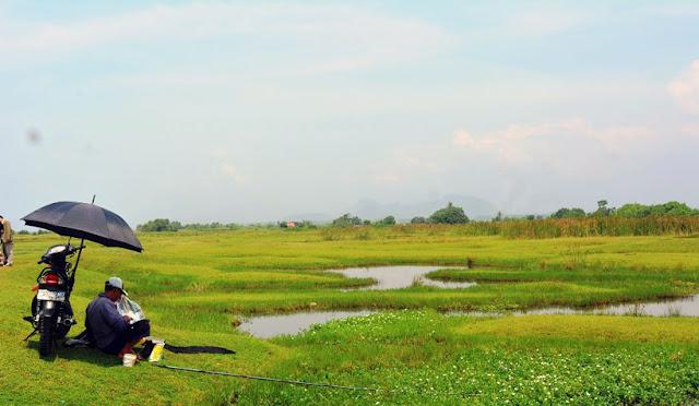 Padang Savana di Desa Pandanwangi