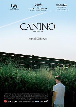 póster de la película Canino de Yorgos Lanthimos