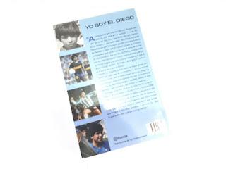 Buku Tanda Tangan Diego Armando Maradona Yo Soy El Diego De La Gente MRD001