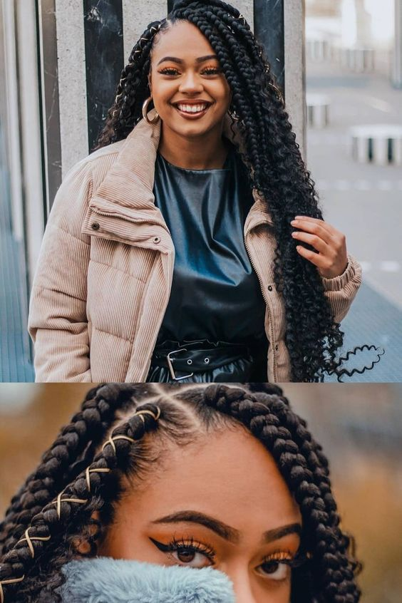 49 Latest Afro Crochet Braids Hairstyles To Copy In 2020