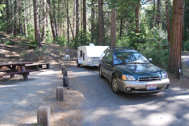 Tiny Trailer Camping, Stanislaus National Forest
