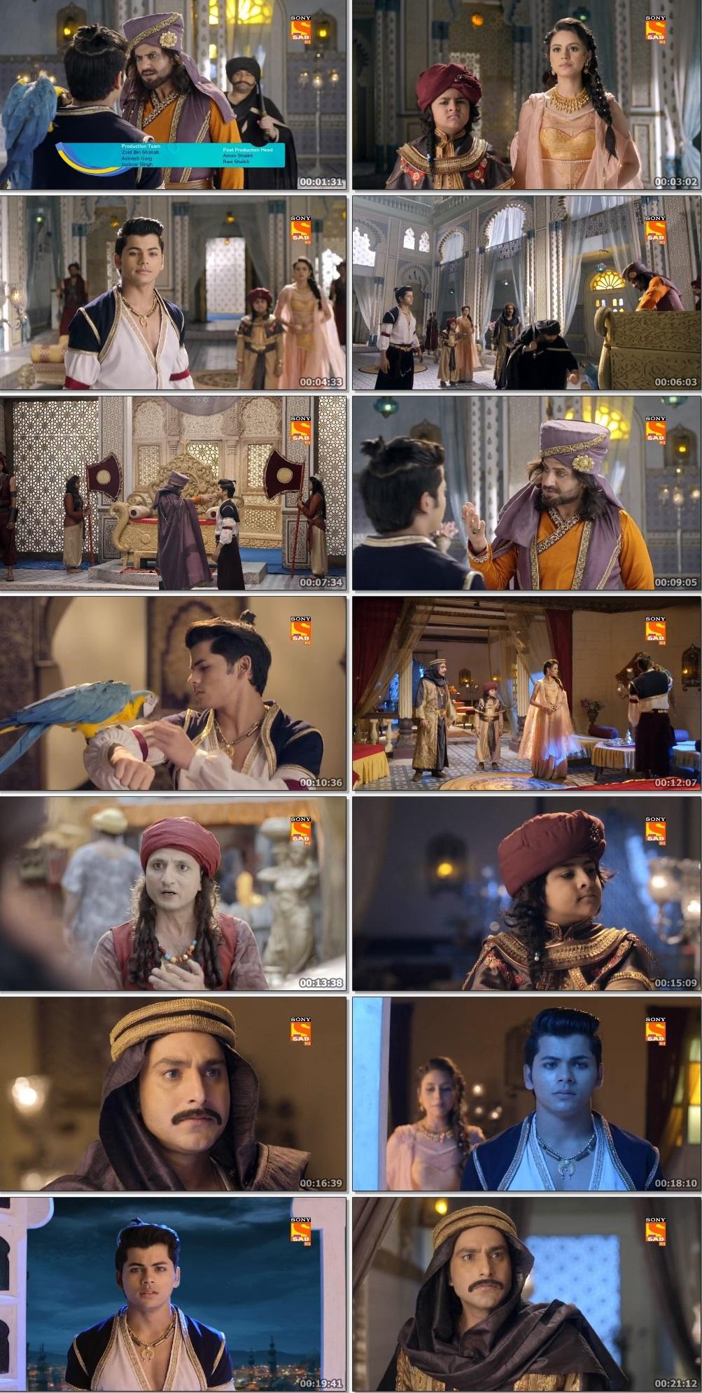 Screenshots Of Hindi Show Aladdin – Naam Toh Suna Hoga 2019 Episode 222 300MB 720P HD