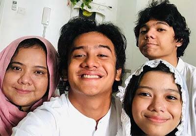 Kevin Ardilova Bersama Keluarganya