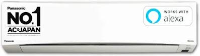 Panasonic 1 Ton 5 Star WiFi Inverter Split AC (NU12XKYW)