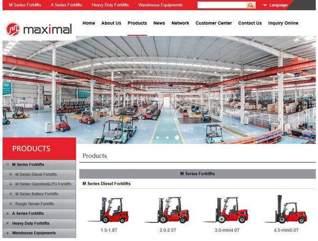 Zhejiang Maximal Forklift Co., Ltd.