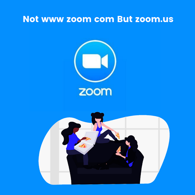 Not www zoom com But zoom.us