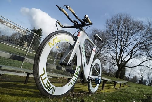 Metl .. a bicycle tire that uses NASA hump-humping technology
