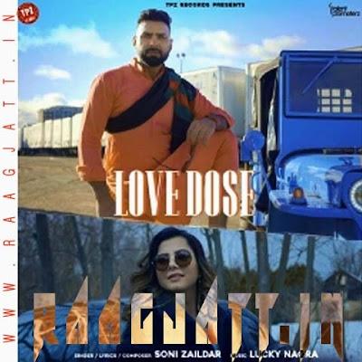 Love Dose by Soni Zaildar lyrics
