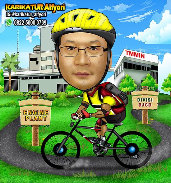 Gambar Kucing Naik Sepeda godean.web.id