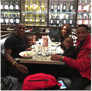 footballer odion ighalo family