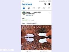Cara Menyimpan Gambar Kiriman Orang Lain di Facebook ke Galeri
