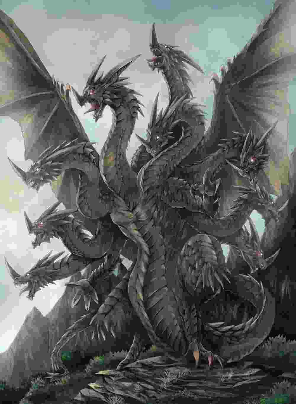 Dragão da Cólquida ou Ladon