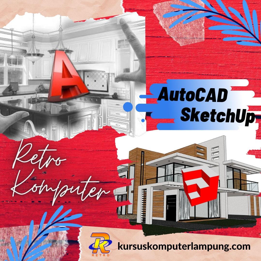 Kursus AutoCad 3D Sketchup di Bandar Lampung