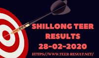 Shillong Teer Results Today-28-02-2020