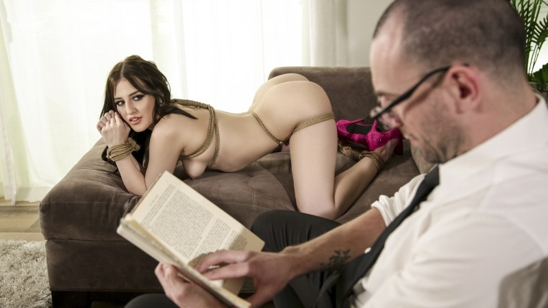 Babes – Tied Up Not Tied Down – Aubree Valentine