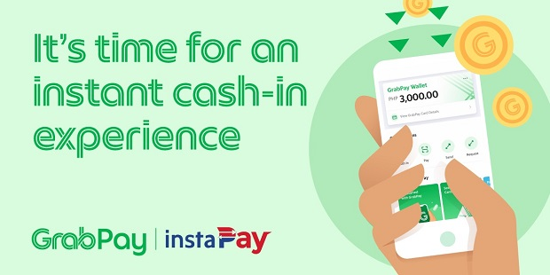 add funds to GrabPay via Instapay