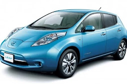 2018 Nissan Leaf Prototype shows 265Km (165 miles) of the driving range