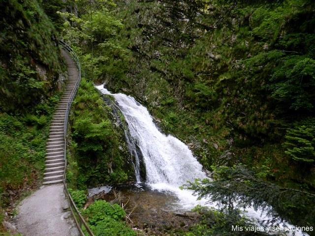 Cascada de Allerheiligen, Selva Negra, Alemania