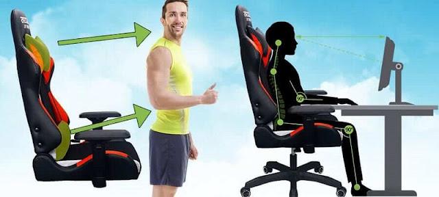 Điều chỉnh chiều cao ghế một cách hợp lí