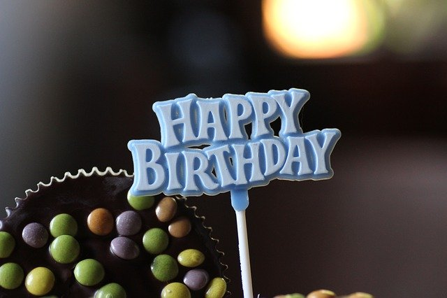 Beautiful Happy Birthday Image in hd with cake and candles free download