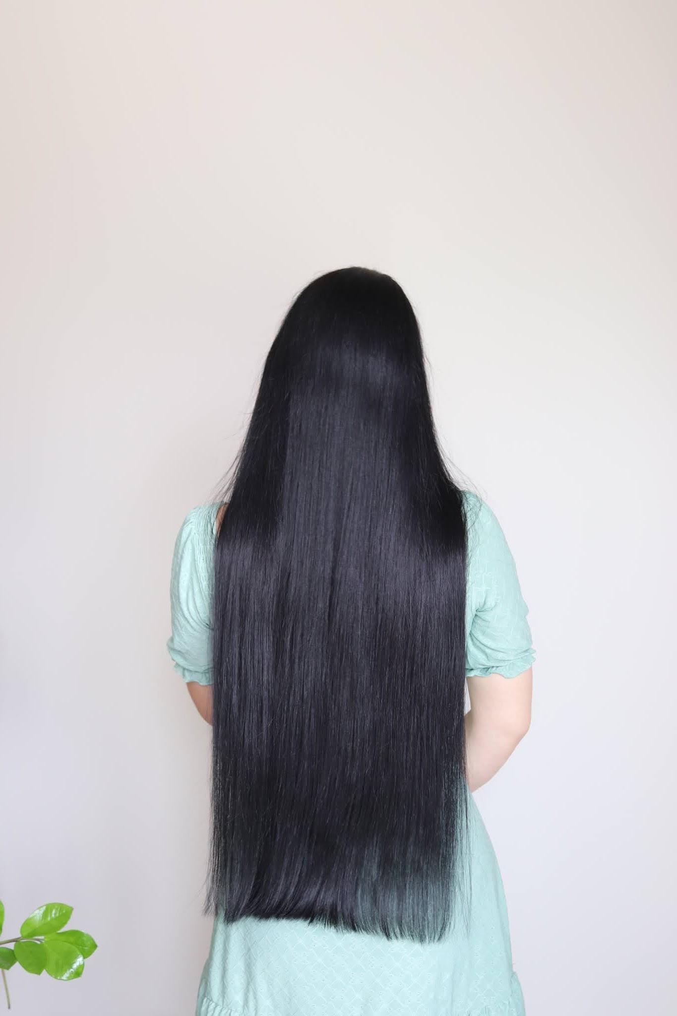 włosy przed podcięciem