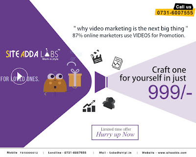 Promotion Video at just 999