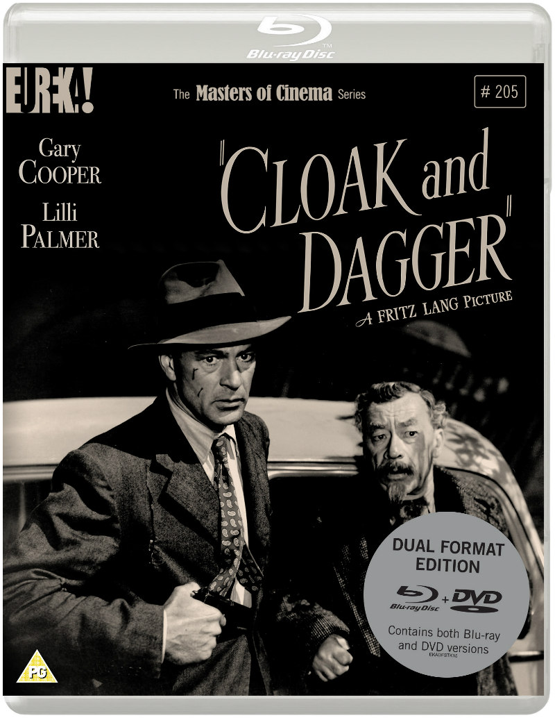 cloak and dagger 1946 bluray