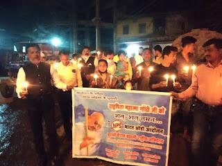पुलवामा हमले की दूसरी बरसी पर जयस्तंभ परिसर में शहीदों को दी गई श्रद्धांजलि