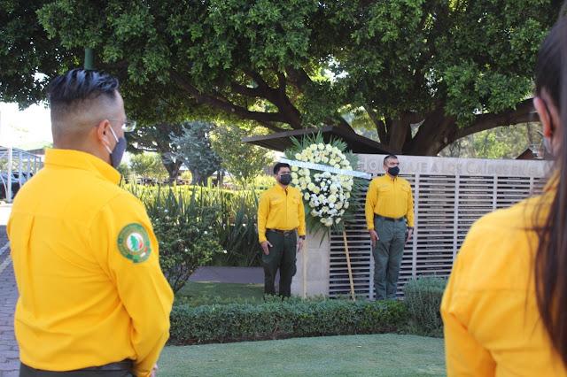 Honra la CONAFOR a combatientes de incendios forestales