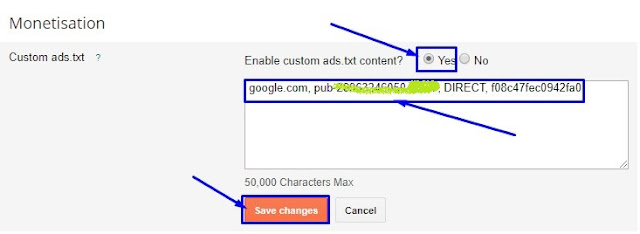 ads.txt blogger