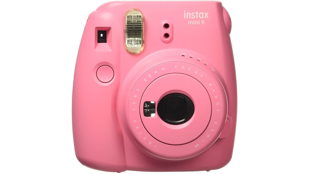 Fujifilm Instax Mini 9 Instant Camera Flemingo pink