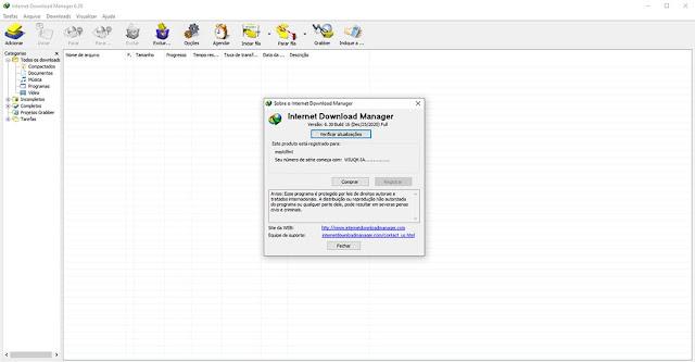 Imagem Internet Download Manager (IDM)