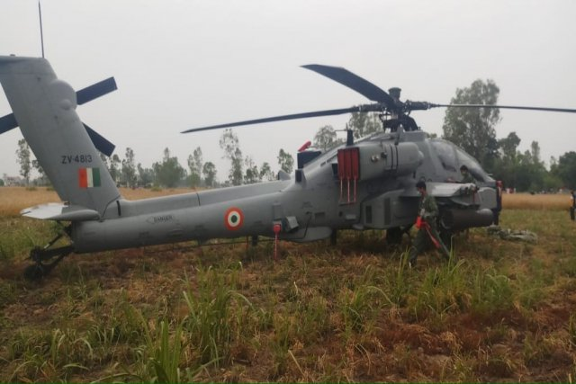 IAF's AH-64 Apache Makes Emergency Landing