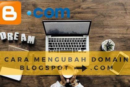 Cara Setting Mengganti Alamat Blogspot Menggunakan Domain Sendiri