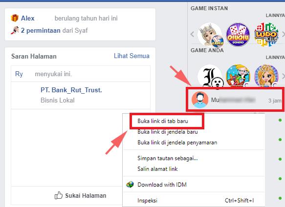 Cara Menghapus Semua Pesan di Facebook