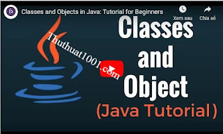 Class and Object trong java OOP