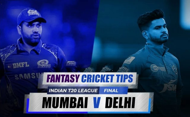 MI vs DC Dream11 Fantasy Cricket Tips and Preditions