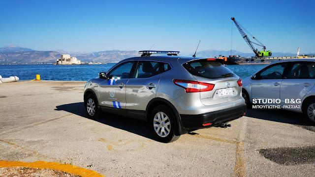 Έπεσε αυτοκίνητο στο λιμάνι του Ναυπλίου - Σώος ο οδηγός