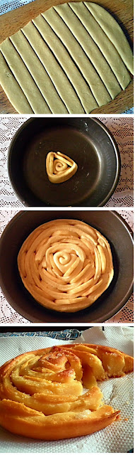 Spiral Apple Bread Recipe @ http://treatntrick.blogspot.com