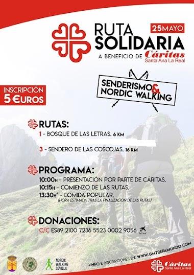 RUTA SOLIDARIA SANTA ANA LA REAL 2019