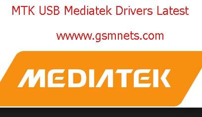 MTK USB Mediatek Drivers Latest All Download