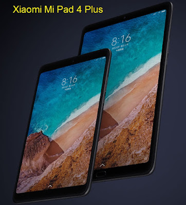 Xiaomi Mi Pad 4 Plus - 10.1-inches Display - Qualcomm Snapdragon 660 | AI Face Recognition | 4GB/64GB