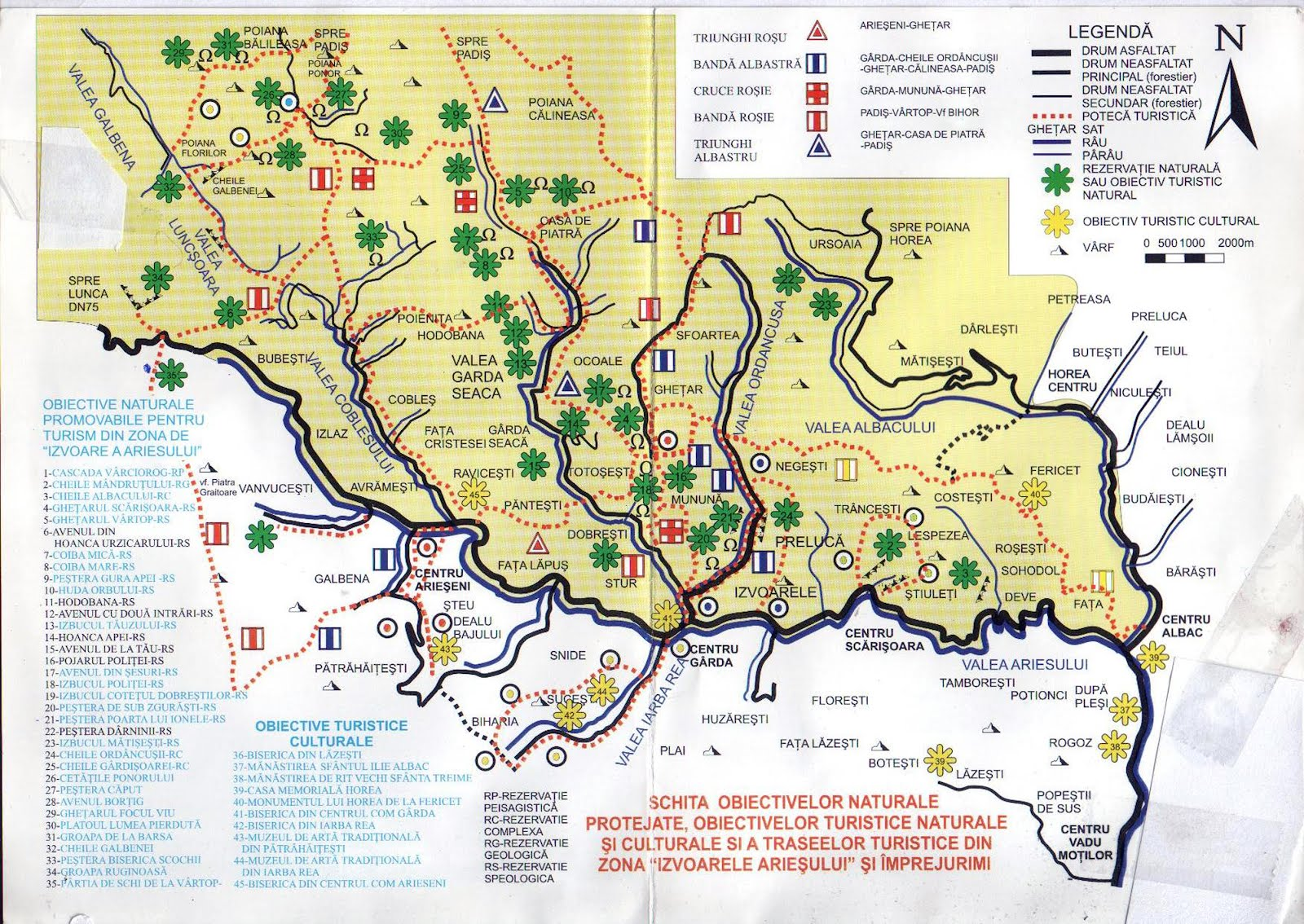 Romania Live Arieseni Live Webcam Partia Vartop Harta Turistica