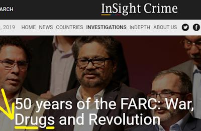 As FARC e a droga