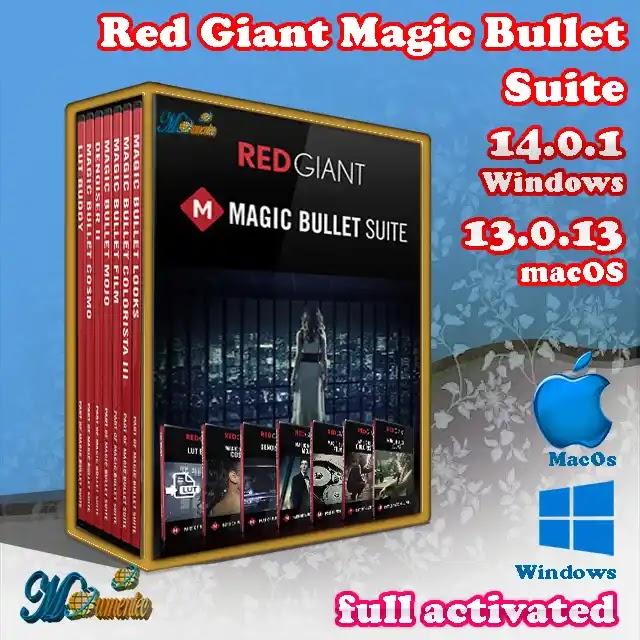 Red Giant Magic Bullet Suite | V14.0.1 Windows/ 13.0.13 macOS