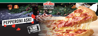 papa john's kampanya ve fırsatları menü fiyat listesi 2021 online sipariş pepperoni aşkı