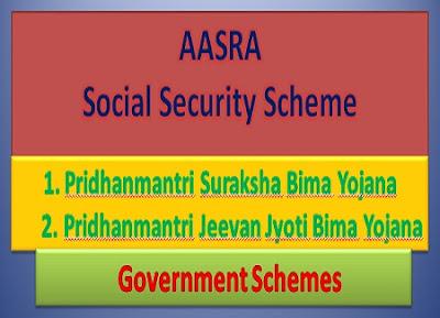 aasra scheme, a social security scheme j&K