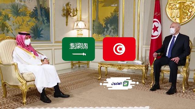 بالفيديو: رئيس الجمهورية قيس سعيد يلتقي بوزير الخارجية للملكة العربية السعودية