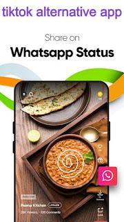 tiktok alternative indian app